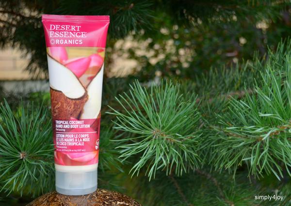 Desert Essence, Organics, Hand and Body Lotion, Tropical Coconut