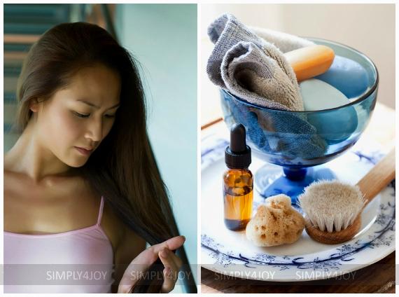 укрепление тонких волос маслами