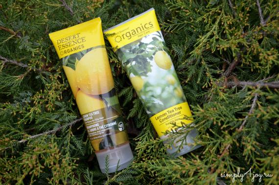 Шампунь Desert Essense Lemon Tea Tree