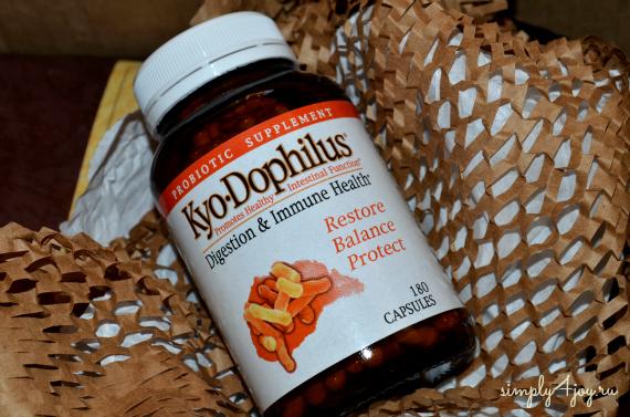пробиотики Киодофилус ihHerb