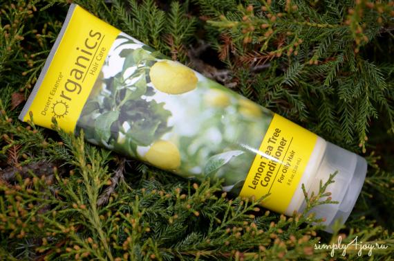 Кондиционер для волос Desert Essense Lemon Tea Tree
