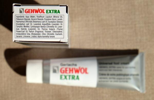 Gehwol extra daily foot cream inci