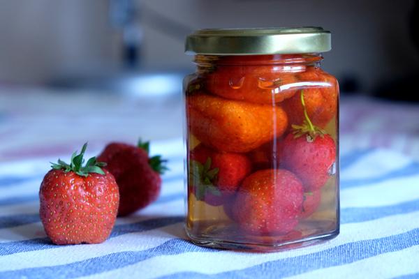handmade fruit vinegar