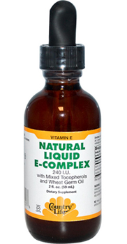Country Life, Gluten Free, Natural Liquid E-Complex