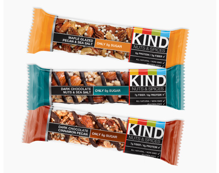 iherb KIND Bars, Nuts & Spices 1