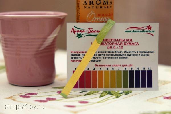 кастильское мыло pH