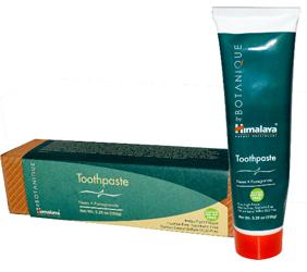 Himalaya Herbal Healthcare, Botanique, Toothpaste
