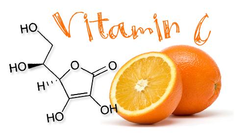 витамины при куперозе, витамин С