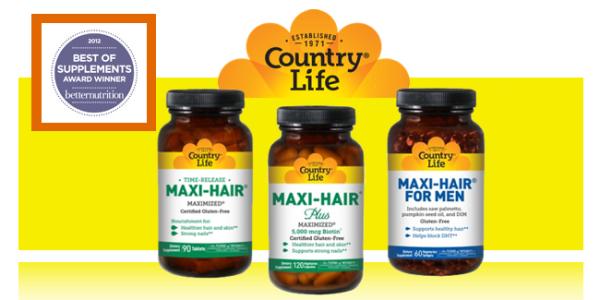 Country Life Maxi-Hair секретные витамины для волос!