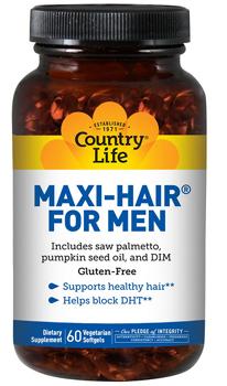 Country Life Maxi-Hair витамины для мужчин!