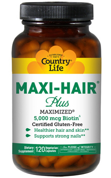 Country Life Maxi-Hair с высокой дозировкой биотина!