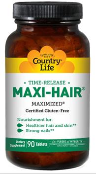 Country Life Maxi-Hair витамины для волос без глютена!