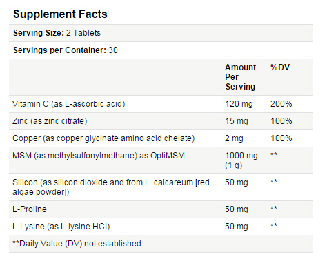 solgar supplement facts