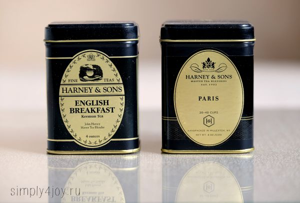 чай черный harney & sons