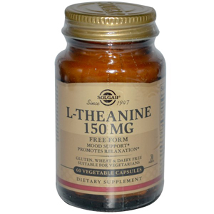 витамины от стресса теанин солгар