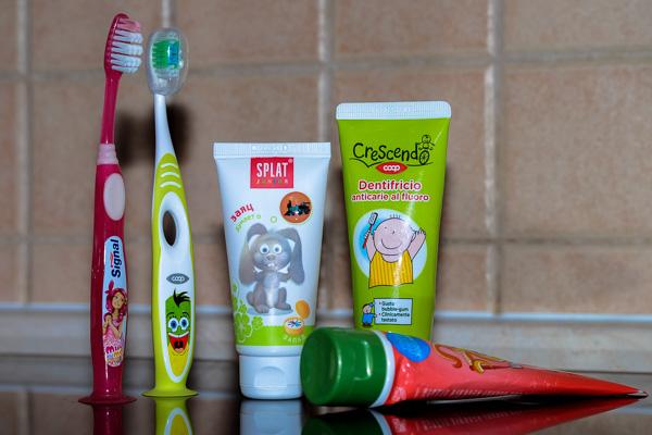 детская зубная паста Сплат