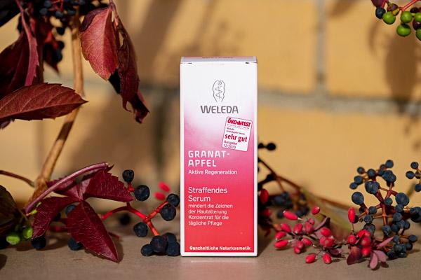 гранатовая сыворотка для лица Веледа Weleda