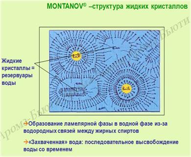 жидкие кристаллы эмульгатор Монтанов 68