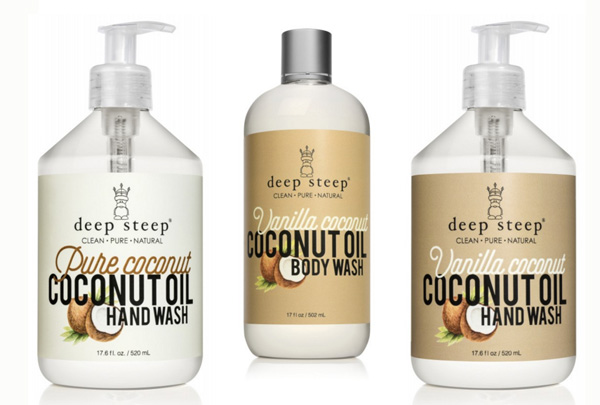 Deep Steep ваниль и кокос новинки