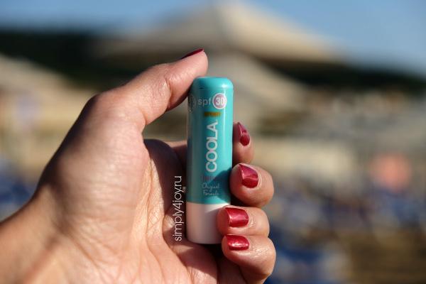солнцезащитный бальзам для губ Coola