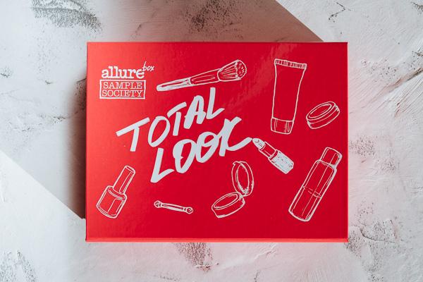 Allurebox Total Look лимитированная коробка как выглядит