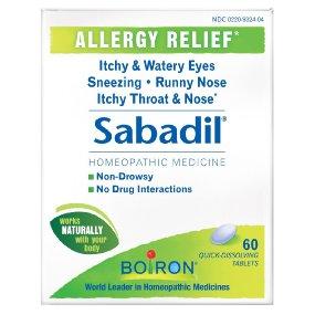 гомеопатия от аллергии Буарон Сабадил