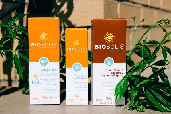 Biosolis натуральный солнцезащитный крем