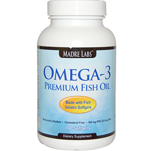 Madre Labs, Omega-3 Premium Fish Oil
