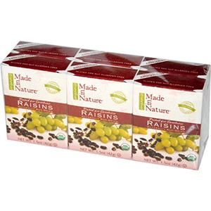 сухофрукты для перекуса детям изюм
