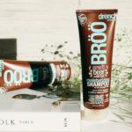 пиво для волос пивной шампунь и кондиционер Broo
