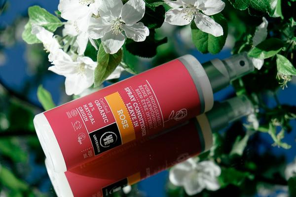Urtekram отзывы спрей для волос роза