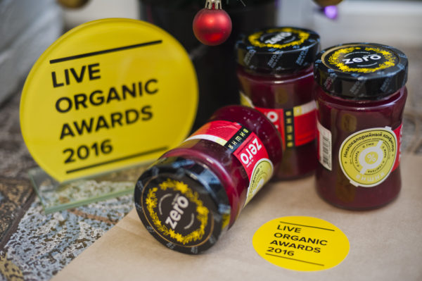 Live Organic awards, simply4joy