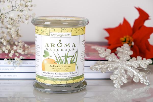 аромасвеча, свеча Aroma Naturals, подарки iherb, simply4joy, что купить iherb