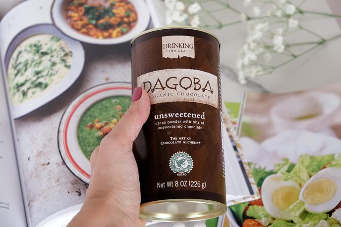 органическое какао, горячий шоколад Dagoba
