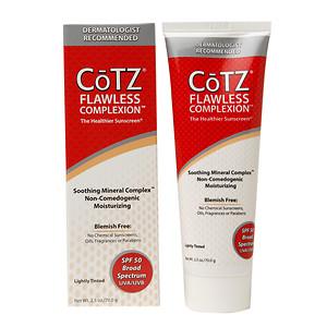 солнцезащитный крем для лица Cotz, тонирующий солнцезащитный крем
