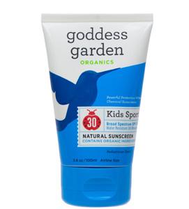 детский солнцезащитный крем Goddess Garden