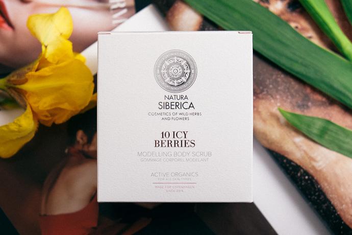natura siberica скраб для тела морозные ягоды simply4joy