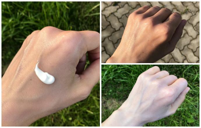 солнцезащитный крем какой лучше выглядит, белесость солнцезащитный