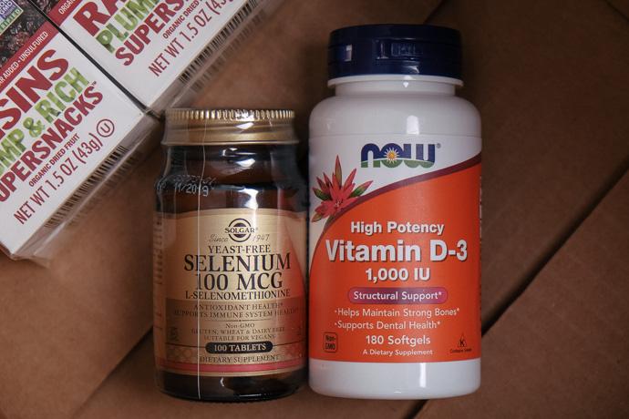посылка iherb 2017 витамин Д, simply4joy