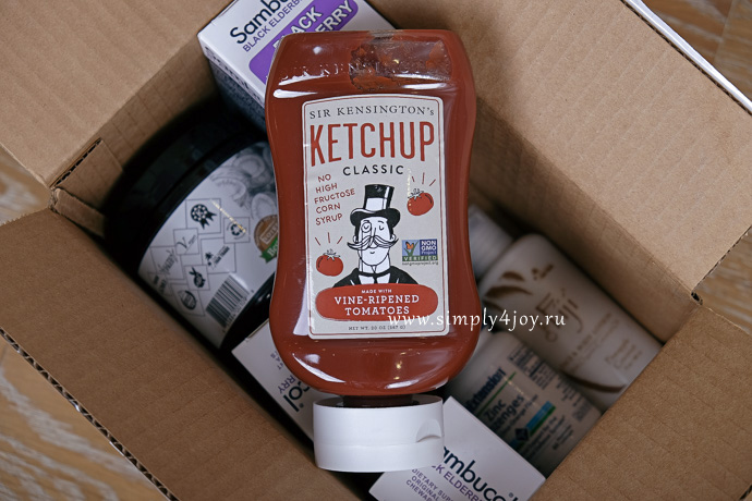 натуральный кетчуп iherb отзывы, simply4joy