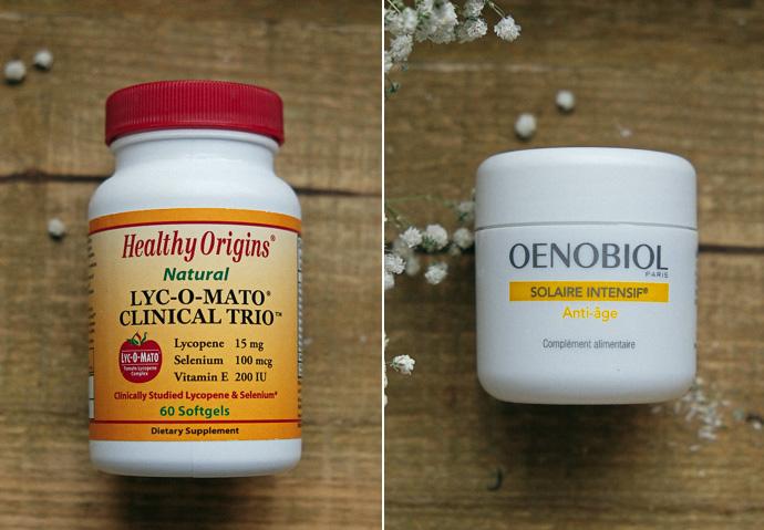 Oenobiol витамины для кожи