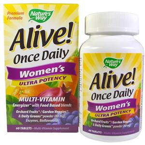 лучшие витамины года, Alive