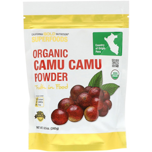California Gold Nutrition, Organic Camu Camu Powder