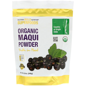 California Gold Nutrition, Organic Maqui Powder