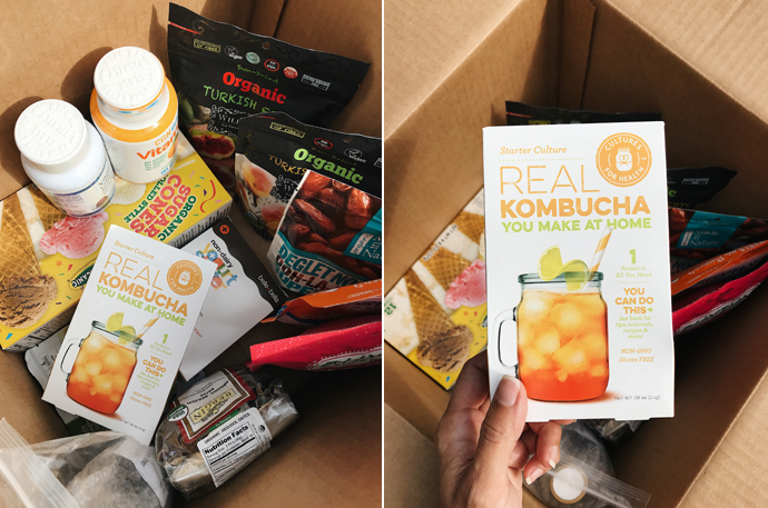 органическая еда, посылка iHerb