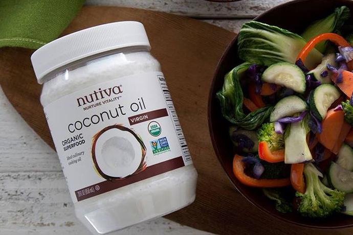 кокосовое масло Nutiva