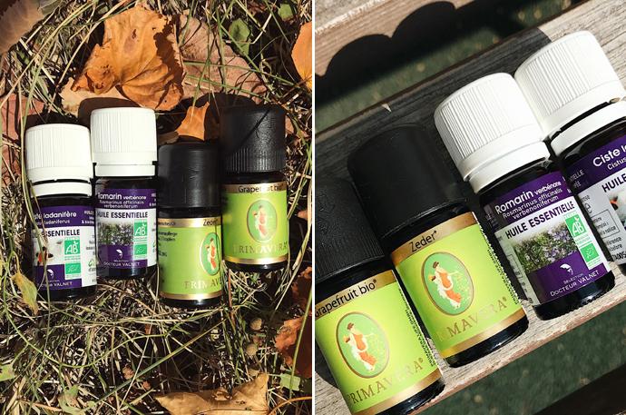 эфирные масла для тела Primavera