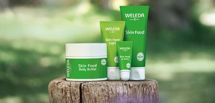 Weleda Skin Food облегченный крем