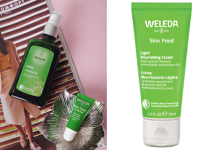 Weleda Skin Food масло для губ