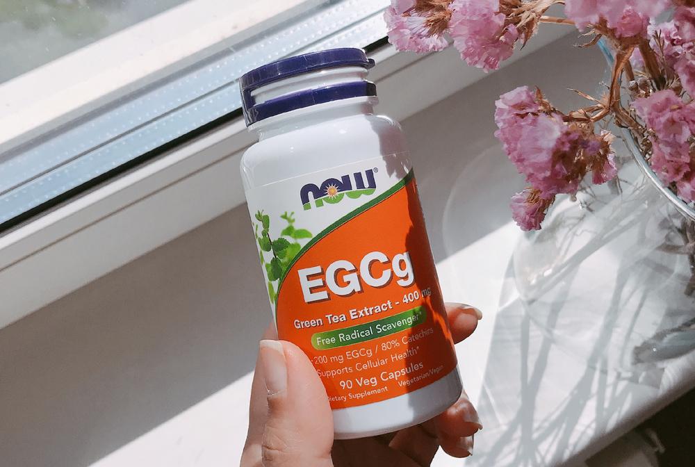 экстракт зеленого чая EGCG Now Food